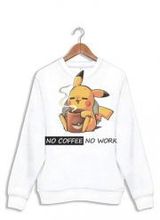 sweat Pikachu Coffee Addict