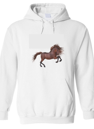 pull capuche hoodie A Horse In The Sunset