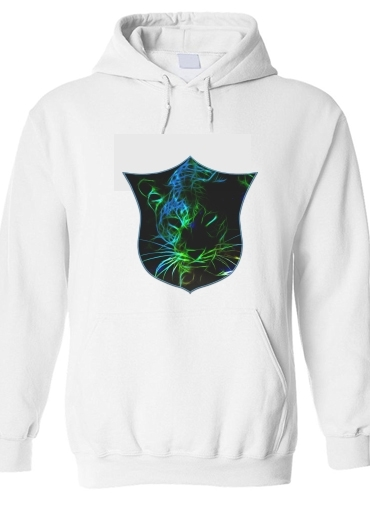 sweat Abstract neon Leopard