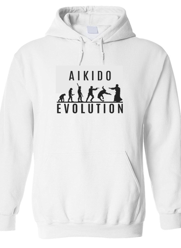 pull capuche hoodie Aikido Evolution