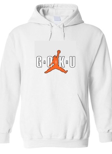 Sweat-shirt à capuche Air Goku Parodie Air
