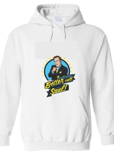 pull capuche hoodie Breaking Bad Better Call Saul Goodman lawyer