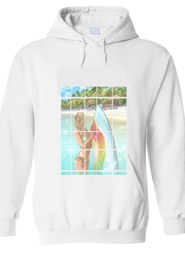pull capuche hoodie California Surfer