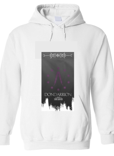 pull capuche hoodie Flag House Dondarrion