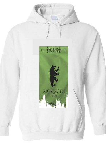 pull capuche hoodie Flag House Mormont