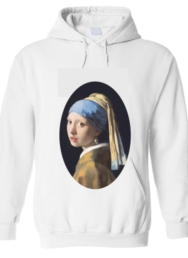 pull capuche hoodie Girl with a Pearl Earring