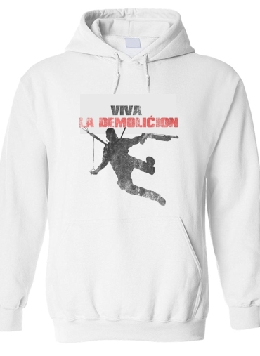 pull capuche hoodie Just Cause Viva La Demolition