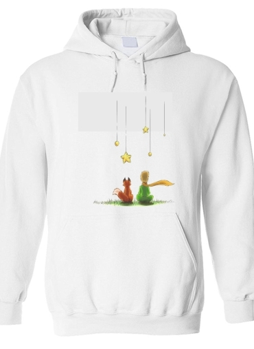 pull capuche hoodie Le petit Prince