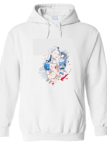 pull capuche hoodie Madness in Wonderland