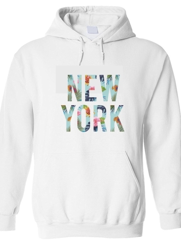 sweat New York en Fleurs