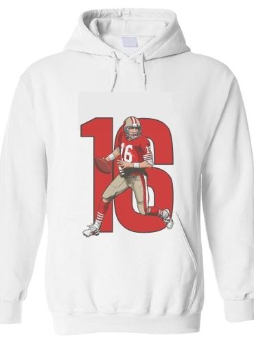Shirt Sweat Capuche Unisex À Nfl Montana Blanc LegendsJoe 49ers bf67gyY
