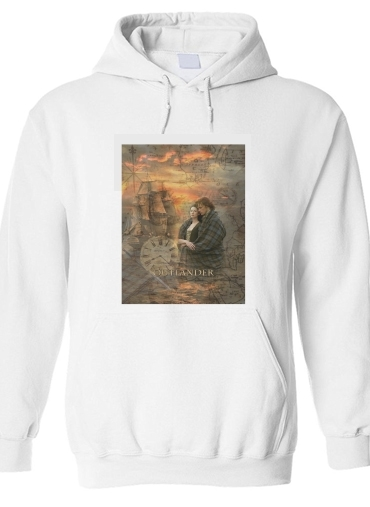 pull capuche hoodie Outlander Collage