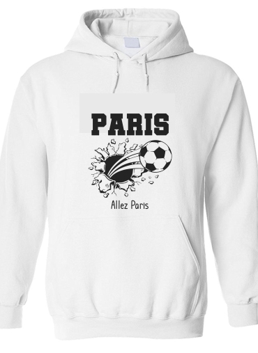 pull capuche hoodie Paris Maillot Football Domicile 2018