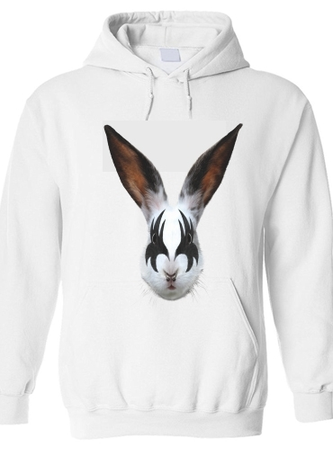 pull capuche hoodie Lapin punk