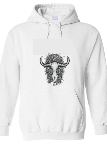 pull capuche hoodie The Spirit Of the Buffalo
