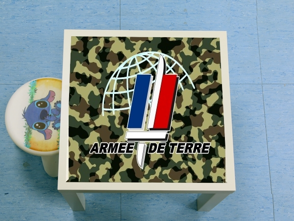 table d'appoint Armee de terre - French Army
