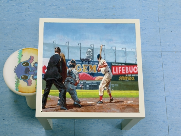enceinte bluetooth Baseball Painting