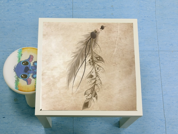 table d'appoint Boho Feather