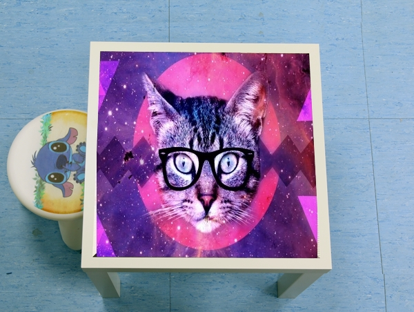 table d'appoint Chat Hipster