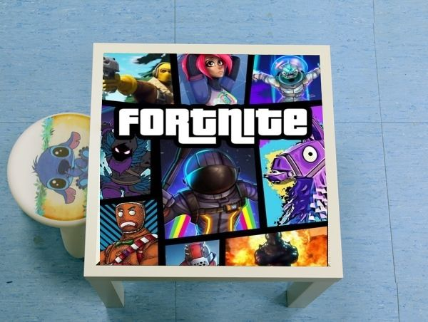 enceinte bluetooth Fortnite - Battle Royale Art Feat GTA