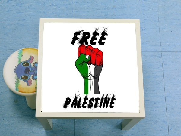 table d'appoint Free Palestine