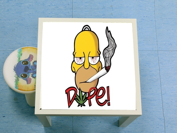enceinte bluetooth Homer Dope Weed Smoking Cannabis
