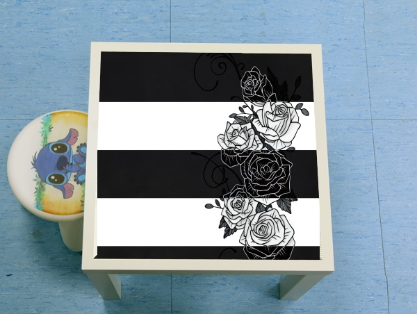 table d'appoint Inverted Roses
