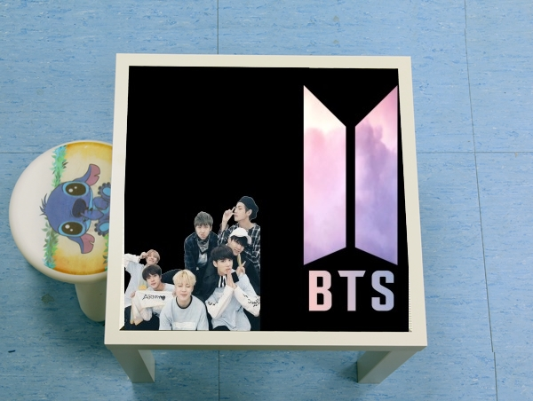 table d'appoint K-pop BTS Bangtan Boys