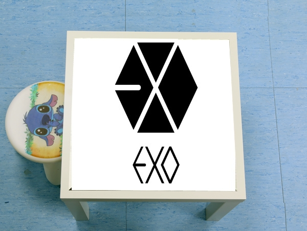 table d'appoint K-pop EXO - PTP