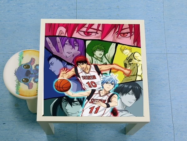 enceinte bluetooth Kuroko no basket Generation of miracles