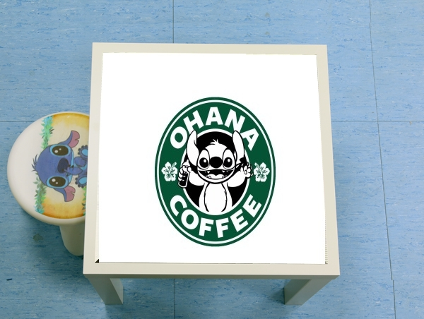 table d'appoint Ohana Coffee