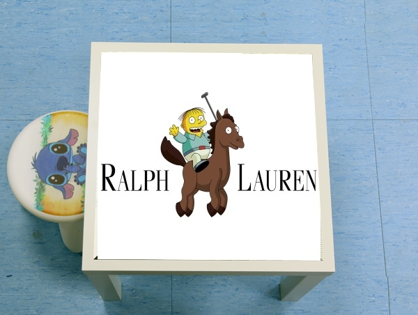 table d'appoint Ralph Lauren Polo Parody Cheval