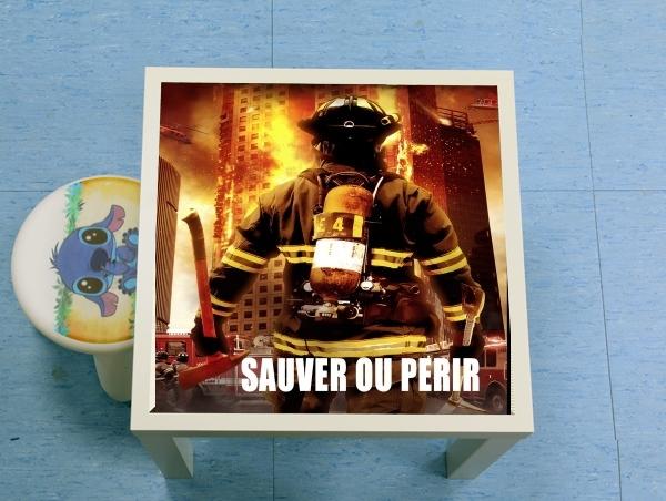 coque samsung a70 pompier