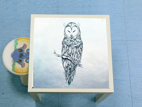 table d'appoint Snow Owl