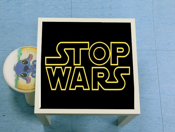 table d'appoint Stop Wars