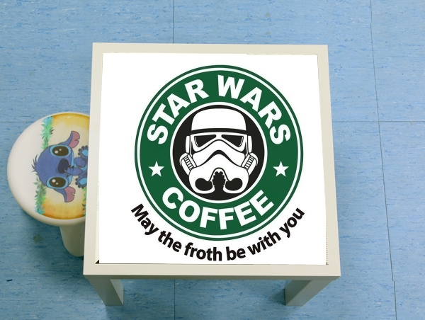 table d'appoint Stormtrooper Coffee inspired by StarWars