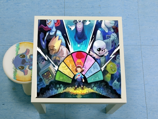 table d'appoint Undertale Art