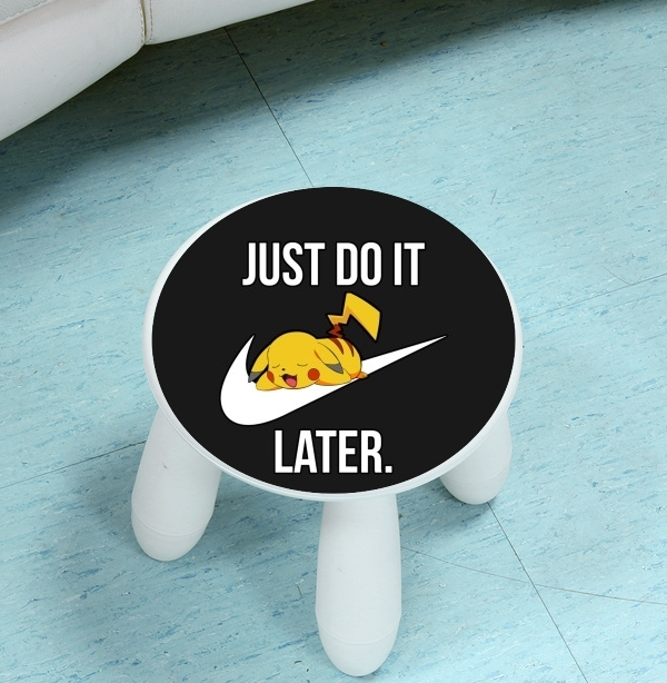 enceinte bluetooth Nike Parody Just Do it Later X Pikachu