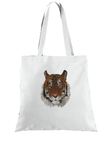 Tote Abstract Tiger