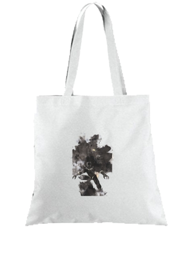 Tote Black Panther Abstract Art WaKanda Forever