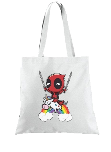 Sac Tote Bag Deadpool Multi Logo