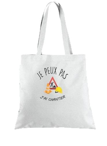 magasin britannique style unique factory Tote Bag - Sac Je peux pas j'ai chantier