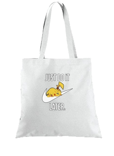 sac Nike Parody Just Do it Later X Pikachu