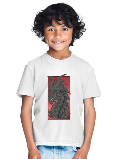 tshirt enfant Aldouin Fire A dragon is born