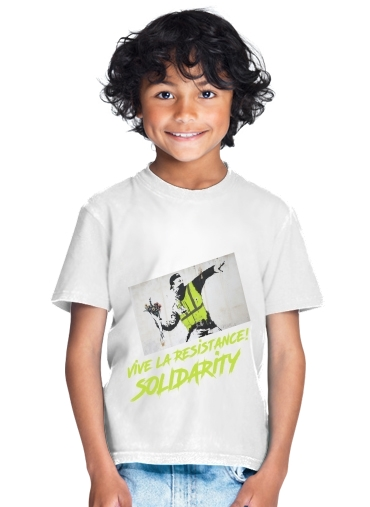 enfant Bansky Yellow Vests