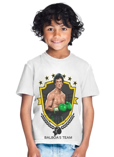 enfant Boxing Balboa Team