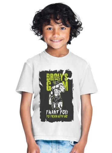 T-shirt Broly Training Gym