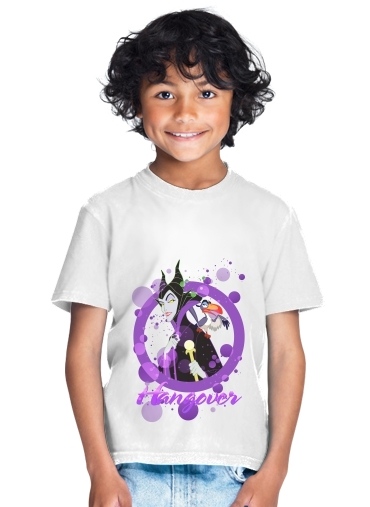 T-shirt Disney Hangover: Maleficent feat. Zazu