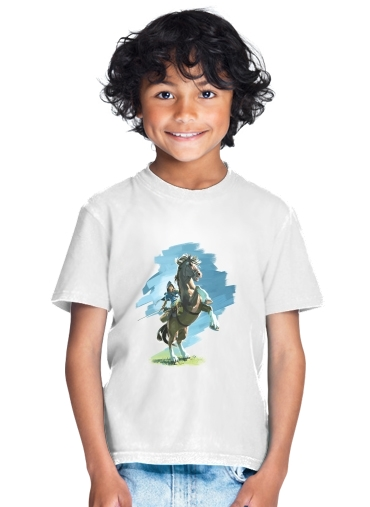 enfant Epona Horse with Link