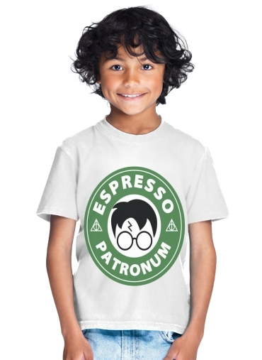 tshirt enfant Espresso Patronum inspired by harry potter